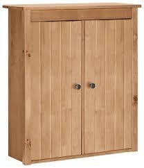 home affaire hängeschrank westa breite 62 cm badezimmerschrank aus massivholz kiefernholz metallgrife 2 türen viel stauraum