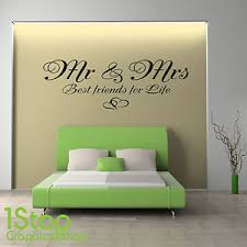 stickers citations chambre mr mrs best for wall sticker quote bedroom wall