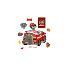 100 Fire Truck Wall Decals Marshall Giant Officially Licensed PAW Patrol