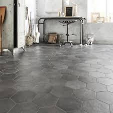 carrelage ceramique leroy merlin carrelage sol et mur anthracite effet béton time l 21 x l 18 cm