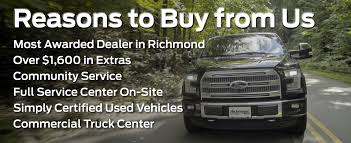 Why Buy From Richmond Ford Lincoln | Ford Dealer Richmond VA