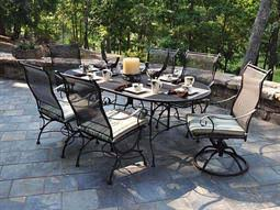 Meadowcraft Patio Furniture Glides by Meadowcraft Patio Furniture Patioliving