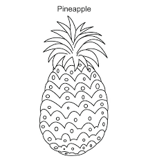 Full Image For Coloring Pages Of Fruit The Spirit Fruits In A