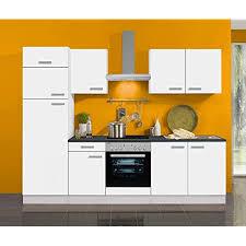 idealshopping küchenblock oslo 270 cm mit einbauspüle ohne