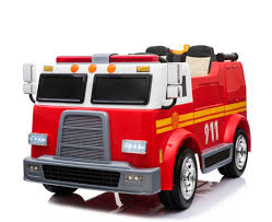 12 Volt -4WD -Two Seater Fire Engine Ride On With Water Gun & Siren ... 40mhz 158 Mini Fire Engine Rc Truck Remote Control Car Toys Kids Dickie Action Series 16 Garbage Walmartcom Rescue Kid Toy Vehicle Lights Water Kidirace Rechargeable Ladder Baby Educational Cartoon For Toddlers Radio Control Fire Engine In Leicester Leicestershire Gumtree Cheap Rc Find Deals On Line At Alibacom 8027 Happy Small Children Brands Products Wwwdickietoysde