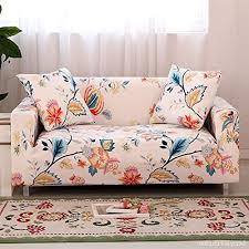 couverture canapé hotniu housses de canapé fleuri imprimé housse de canapé salon