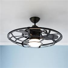 Small Oscillating Outdoor Ceiling Fan by Laundry Room Light Fixture 26