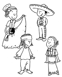 Pin Traditional Costume Clipart Spanish Culture 14