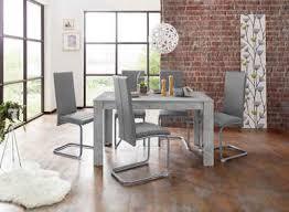 homexperts essgruppe nitro set 7 tlg tisch breite 140 cm 6 stühle