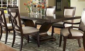 Wooden Dining Table And Chairs Dark Wood Room Set Wonderful With Photo Of