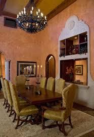 Tuscan Villa Mediterranean Dining Room