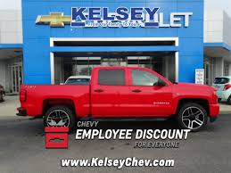 New 2018 Chevrolet Silverado 1500 Custom 4D Crew Cab In Greendale ...