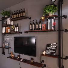 wohnzimmer tv wand dekoration trennwand hängen schlafzimmer