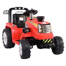 100 Kids Electric Truck KIDS RIDE ON TRUCK TRACTOR TIPPING DUMPER 12V ELECTRIC BATTERY