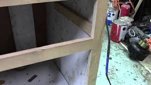 Installing Non Mortise Cabinet Hinges installing a mortise cabinet door hinge youtube
