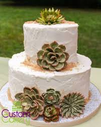 Rustic Buttercream And Succulents Wedding