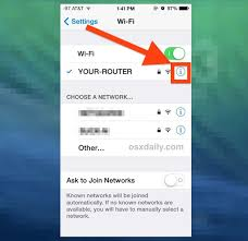 How to For Wi Fi Networks on iPhone iPad to Stop from Re