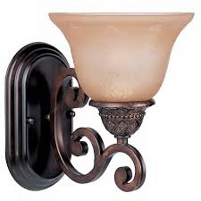 symphony rubbed bronze finish wall sconce 23696 ls plus