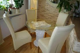 runder glas esstisch tafeltisch küchentisch römischer barock medusa versa serie
