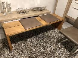 esszimmertisch tisch inkl 4 stühle und bank buche massiv