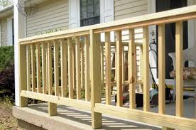 How To Build Porch Railing Wooden Home Design Ideas