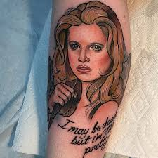 Slayer Tattoos Top 65 Buffy The Slayer Tattoos Littered With Garbage