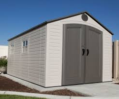 Rubbermaid 7x7 Gable Storage Shed by Great Lifetime Brighton 8 X 15 Storage Shed 50 In Rubbermaid