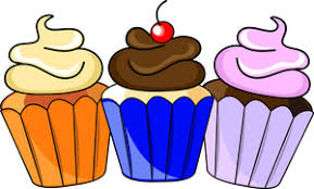 Cupcake clip art for birthday free clipart images