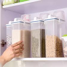 portable boîte de rangement de cuisine tasse à mesurer avec un