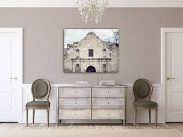 Canvas Wall Art Alamo The Spanish