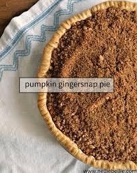 Pumpkin Pie With Gingersnap Crust Gluten Free by Pumpkin Pie With Gingersnap Pecan Topping Recipe