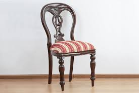 Fiddle Back Dining Chair - Victorian Antique Furniture Replica