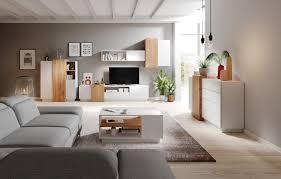 wohnzimmer komplett set a gremda 4 teilig farbe eiche weiß
