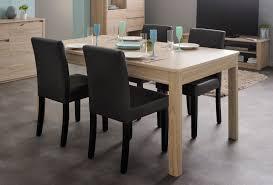 table de salle à manger rectangulaire contemporaine chêne clair
