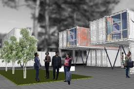 100 Shipping Containers For Sale Atlanta MARTA Station Shippingcontainer Village Gets The Goahead
