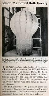 edison memorial bulb ready modern mechanix