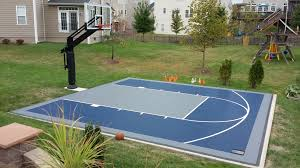 There Is Their Backyard You Can See Their Suspended Minimal Half ... Multisport Backyard Court System Synlawn Photo Gallery Basketball Surfaces Las Vegas Nv Bench At Base Of Court Outside Transformation In The Name Sketball How To Make A Diy Triyaecom Asphalt In Various Design Home Southern California Dimeions Design And Ideas House Bar And Grill College Park Half With Hill