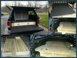 DIY Truck Vault Truck Bed Storage Drawers Dog Kennel Set up
