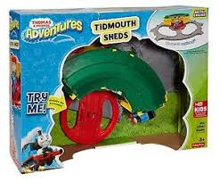 Tidmouth Sheds Deluxe Set by Fisher Price Thomas U0026 Friends Adventures Deluxe Tidmouth Sheds
