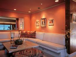 warm and lighting living room decorating idea lighting