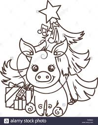 Dibujos Para Colorear Cerdo Dibujo De Cerdo Para Colorear Ul On