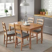jokkmokk tisch und 4 stühle antikbeize