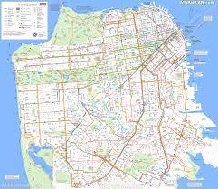 San Francisco Map High Resolution