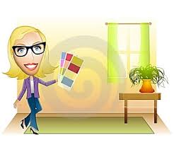Interior Decorator Clipart 1