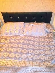 schlafzimmer set swarovski schwarz hochglanz