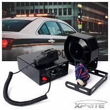 100 Truck Pa System 100W 12V Siren Microphone Horn Loud Speaker PA Emergency