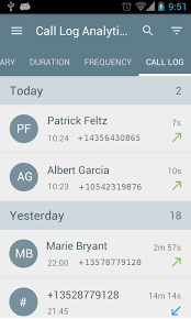 Call Log Analytics Android Apps on Google Play