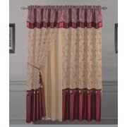 Priscilla Curtains With Attached Valance by Curtains With Attached Valances