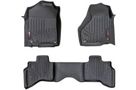 Heavy Duty Floor Mats [Front/Rear] - (02-08 Dodge Ram 1500 Quad Cab ... Universal Fit 3piece Full Set Ridged Heavy Duty Rubber Floor Mat Armor All Black 19 In X 29 Car 4piece John Deere Vinyl 31 18 Mat0326r01 Bestfh Truck Tan Seat Covers With Combo Alterations Mats Red Metallic Design On Vehicle Beautiful For Weather Toughpro Infiniti G37 Whosale Custom For Subaru Forester Legacy 19752005 Bmw 3series Husky Liners Heavyduty