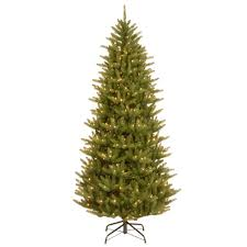 9 Fraser Fir Artificial Christmas Tree by National Tree Company 7 5 Ft Natural Fraser Slim Artificial